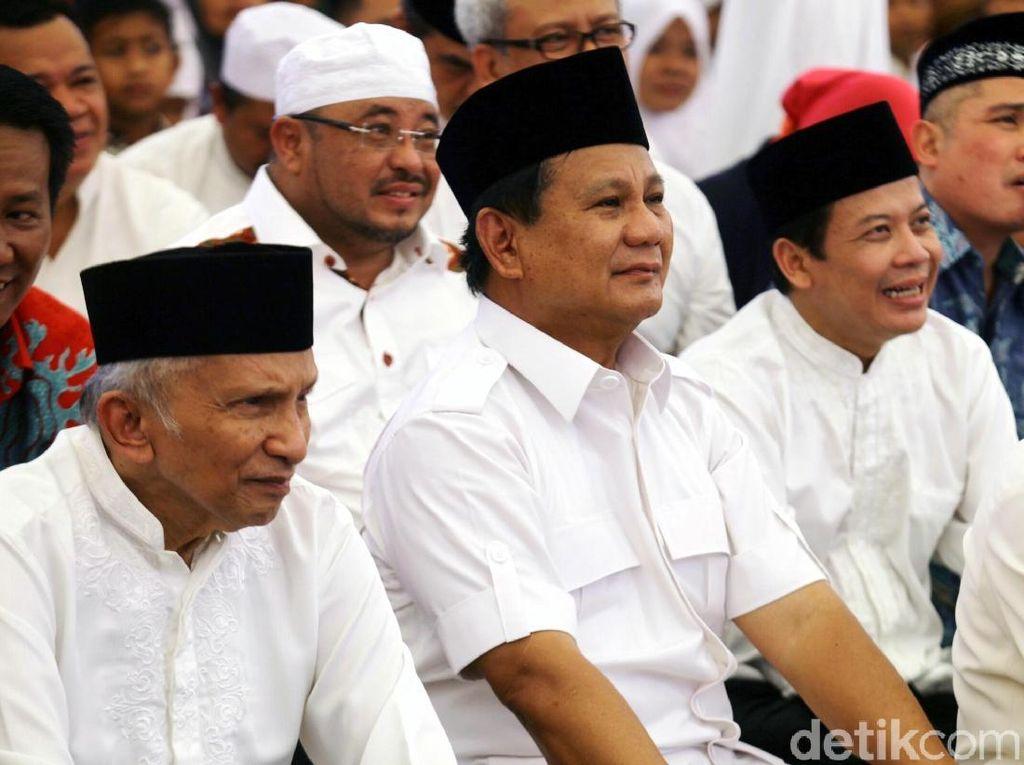Amien Rais Beberkan Alasan Prabowo Bersedia Jadi Menhan Jokowi