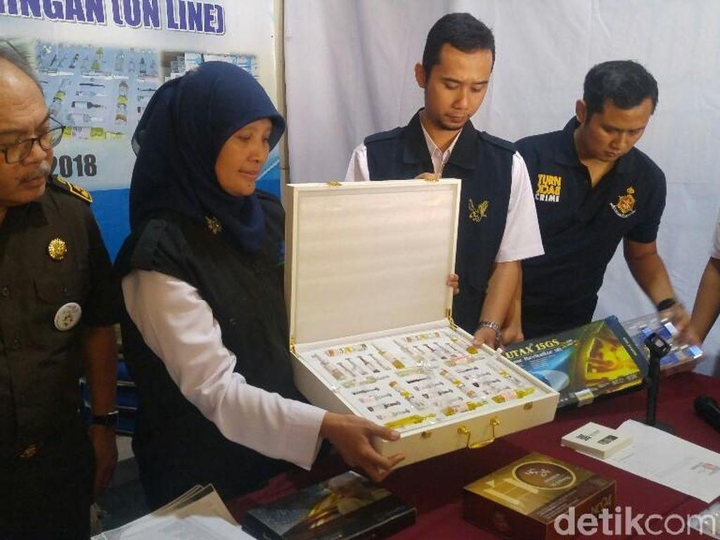 BPOM Sita Obat Kecantikan Ilegal Senilai Rp 3,5 M di Semarang