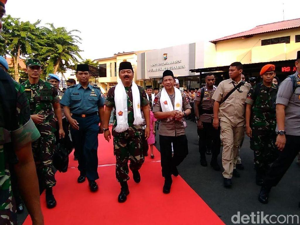 Kapolri Puji CCTV Risma yang Bantu Ungkap Kasus Bom di Surabaya