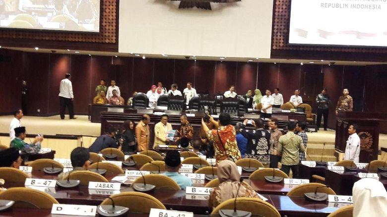 DPD RI Dapat Opini WTP dari BPK, Pimpinan Senang