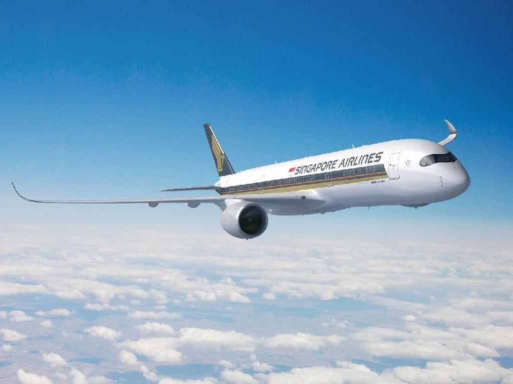 Singapore Airlines Kurangi Pelayanan karena Corona