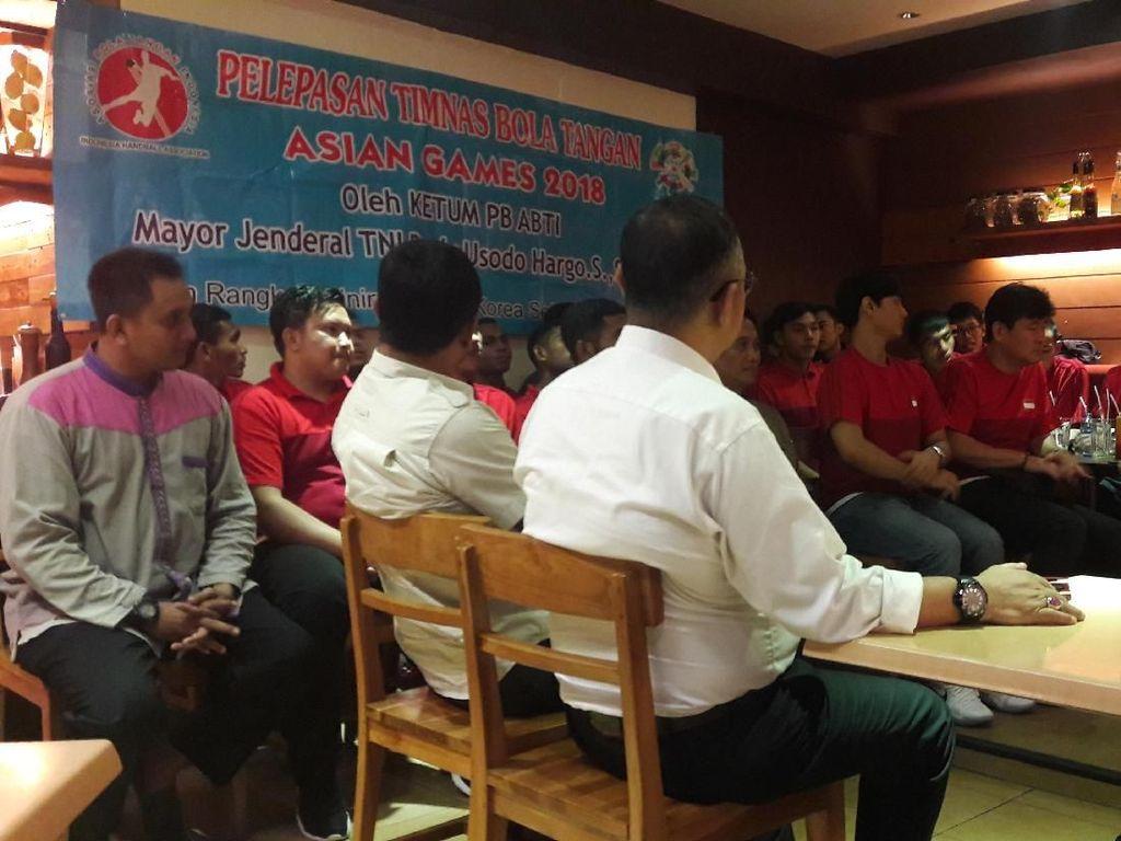 Persiapan Asian Games 2018, Timnas Bola Tangan TC di Korsel