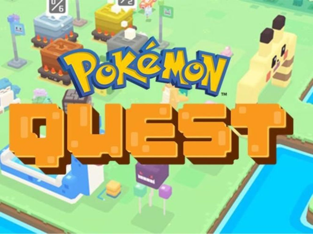 Game Pokemon Quest Sambangi Nintendo Switch