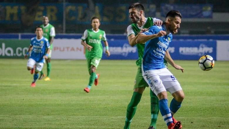 Persib Dikalahkan Bhayangkara FC di Kandang Sendiri