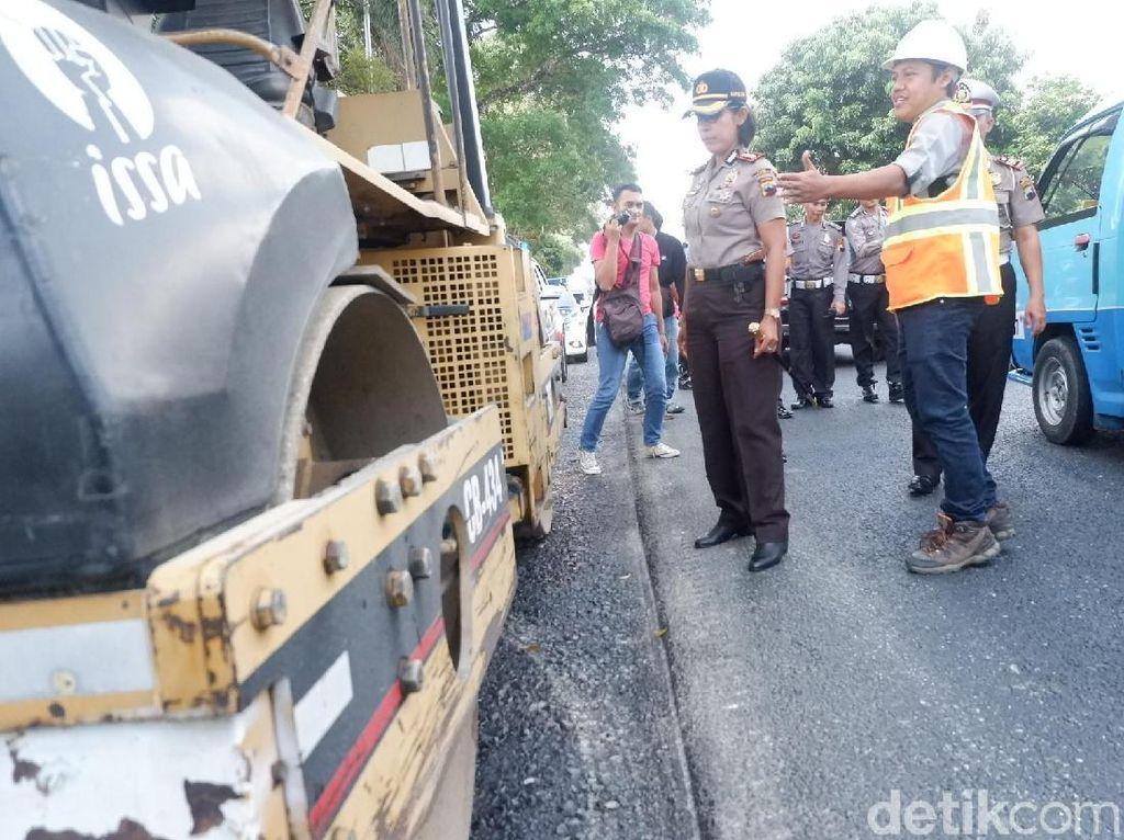 Pelebaran Jalan di Banjarnegara Harus Berhenti Saat Arus Mudik