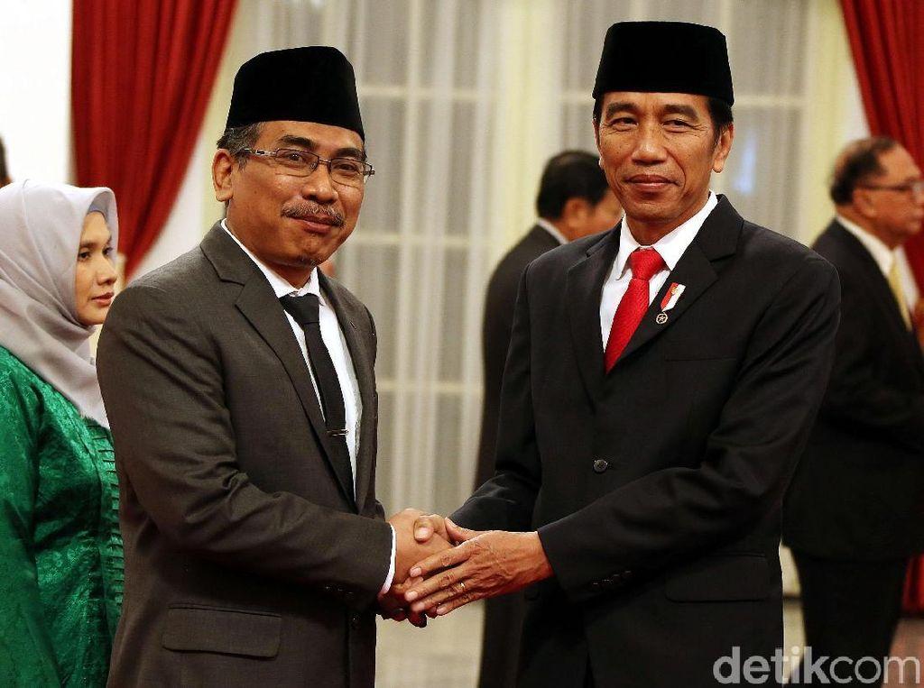 Yahya Staquf Resmi Jadi Wantimpres Jokowi