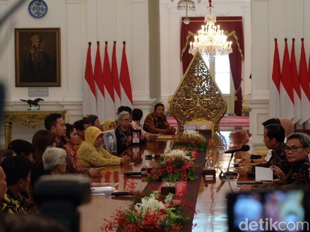 Jokowi: Saya Sudah Lama Ingin Bertemu Peserta Aksi Kamisan