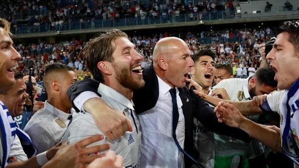 Ramos Sudah Prediksikan Kepergian Zidane Tiga Bulan Lalu