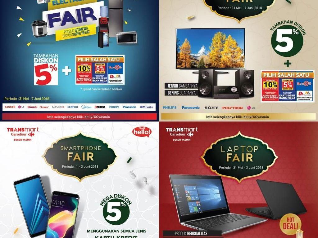 Ada Promo Laptop hingga LED TV di Transmart Carrefour Yasmin Bogor