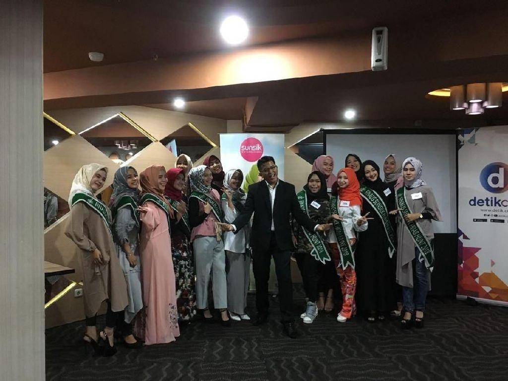 Mengintip Persiapan Grand Finalis Sunsilk Hijab Hunt 2018