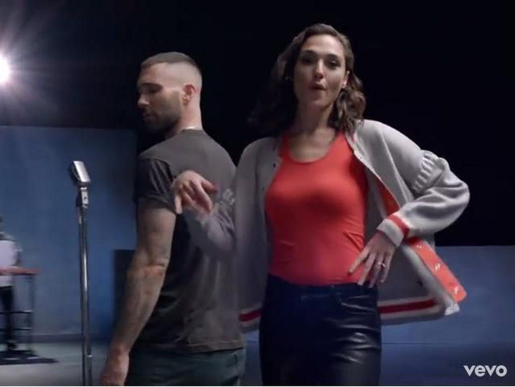 Seminggu Dirilis, Klip Maroon 5 dengan Gal Gadot Tembus 38 Juta Penonton