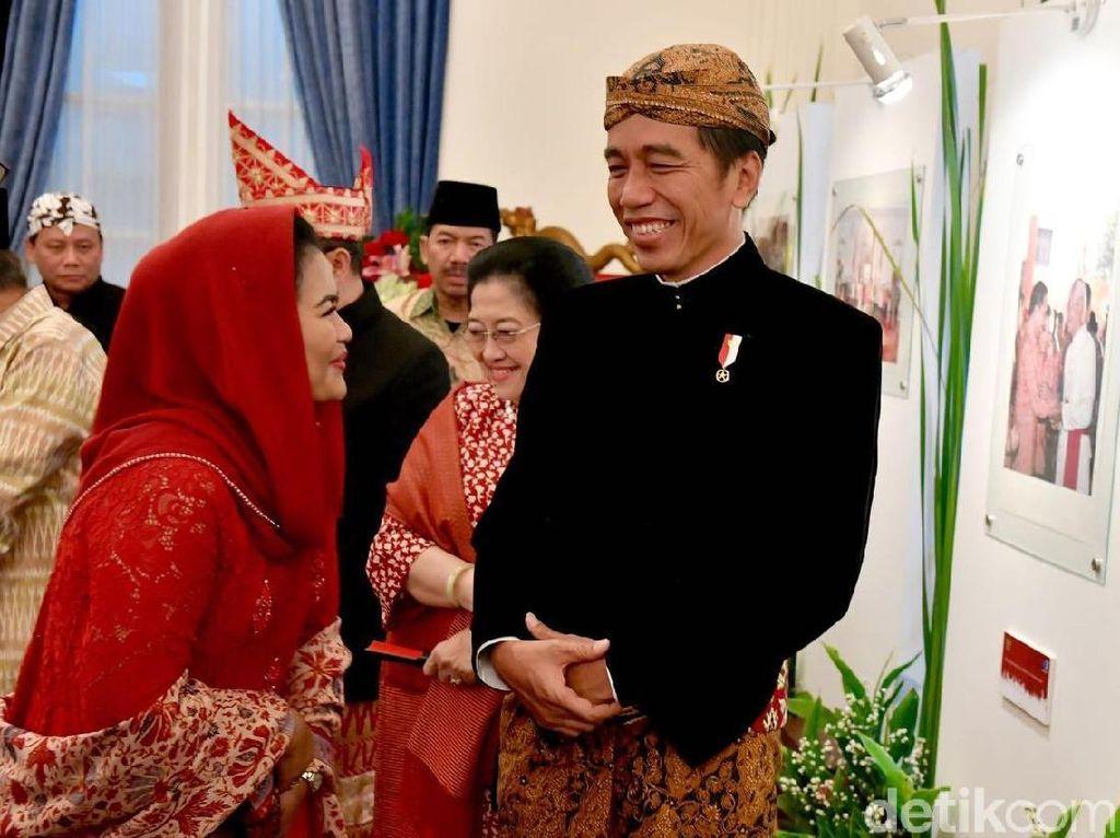 Jokowi Berpesan ke Puti untuk Jaga Pancasila