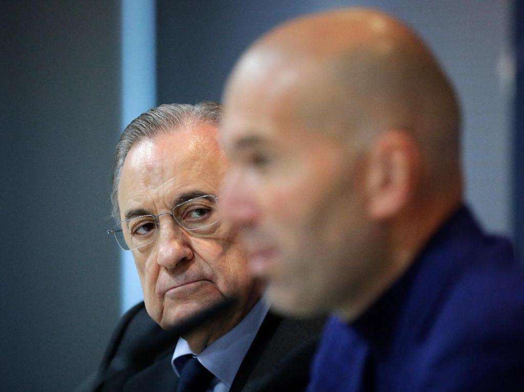 Meme Madrid yang Ditinggal Zidane Pas Lagi Sayang-sayangnya