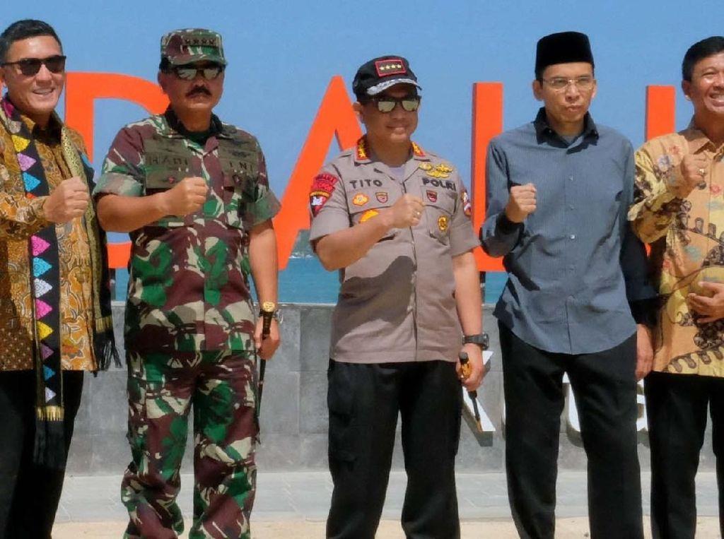 Panglima TNI Kunjungi Kawasan Pariwisata Mandalika
