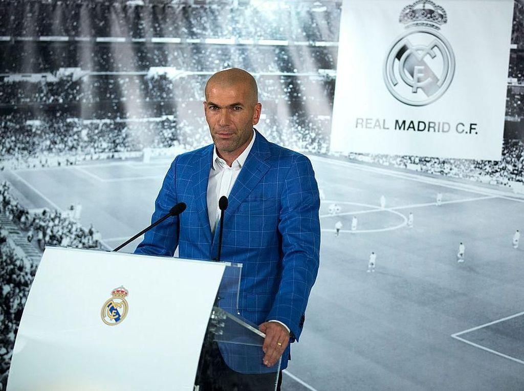 Foto: 10 Momen Pilihan dalam Karier Zidane sebagai Pelatih Madrid
