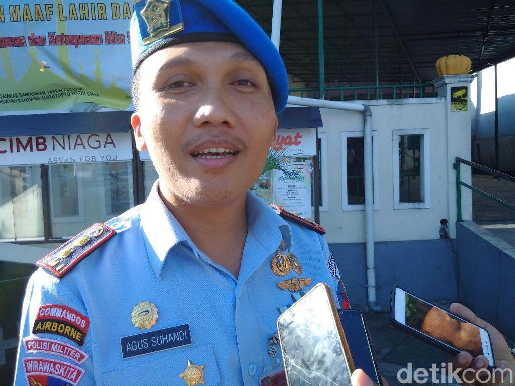 Pemukul Driver Taksi Online di Bandara Yogya Diduga Oknum TNI AU