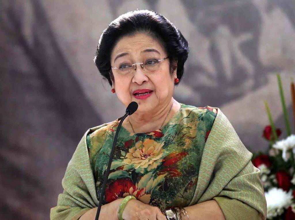 Canda Megawati soal Usia 17 Plus di BPIP