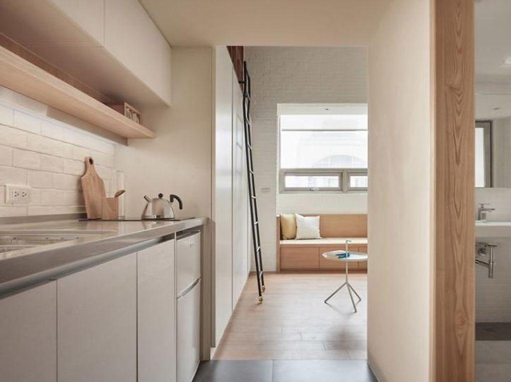 Cantiknya Desain Apartemen Mungil Ini, Jadi Terasa Luas