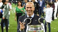 Pundi-pundi Harta Zidane dari Real Madrid