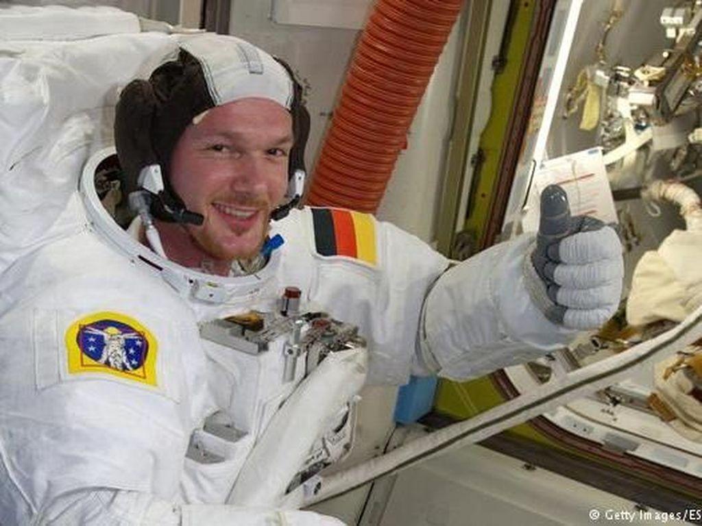 Sosok Komandan Stasiun Luar Angkasa Internasional Pertama dari Jerman