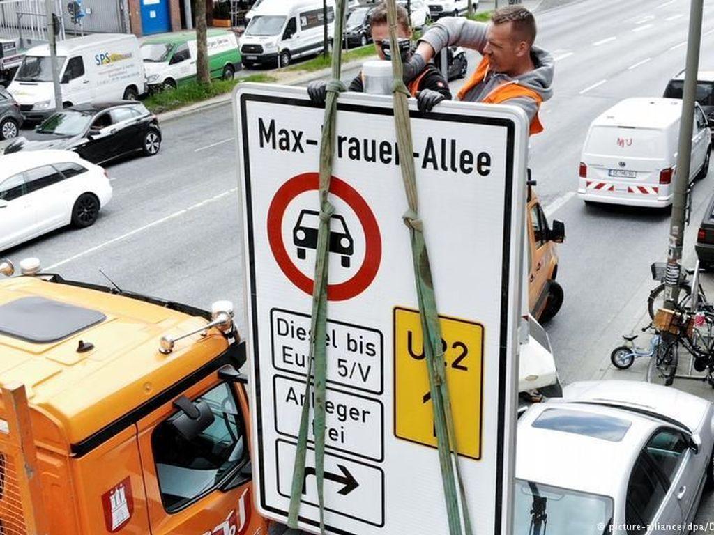 Pertama di Jerman, Hamburg Larang Mobil Diesel Generasi Lama
