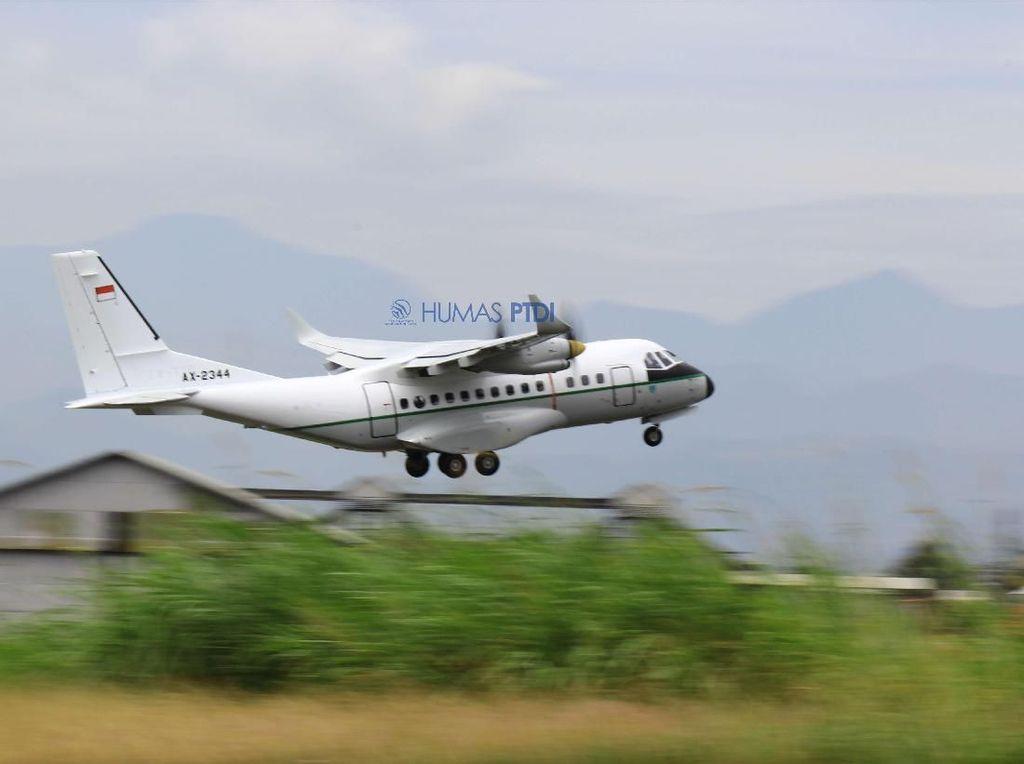 Pesawat Made in Bandung Laris Manis Dibeli Senegal