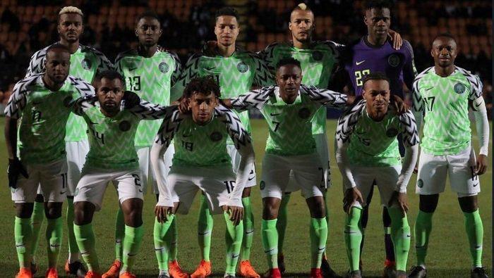 f4a7c3c08 Jersey timnas Nigeria habis terjual. (Foto  Twitter  thenff)