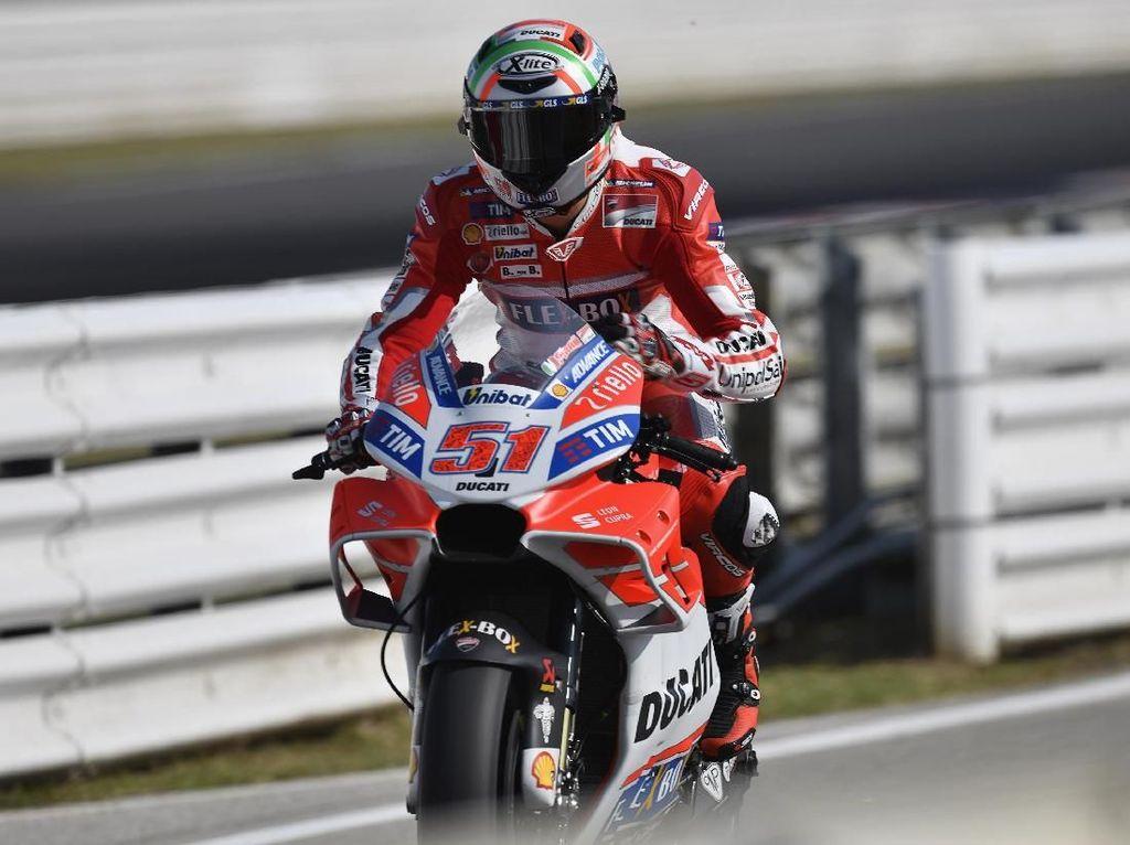 Pebalap Ducati Kecelakaan, Layout MotoGP Italia Harus Diubah