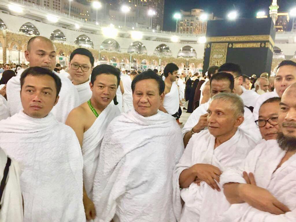 PA 212: Pertemuan dengan Prabowo di Masjidil Haram Tanpa Rencana