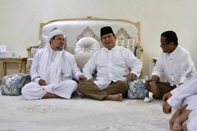 Rizieq Minta 4 Partai Deklarasi Dukung Prabowo