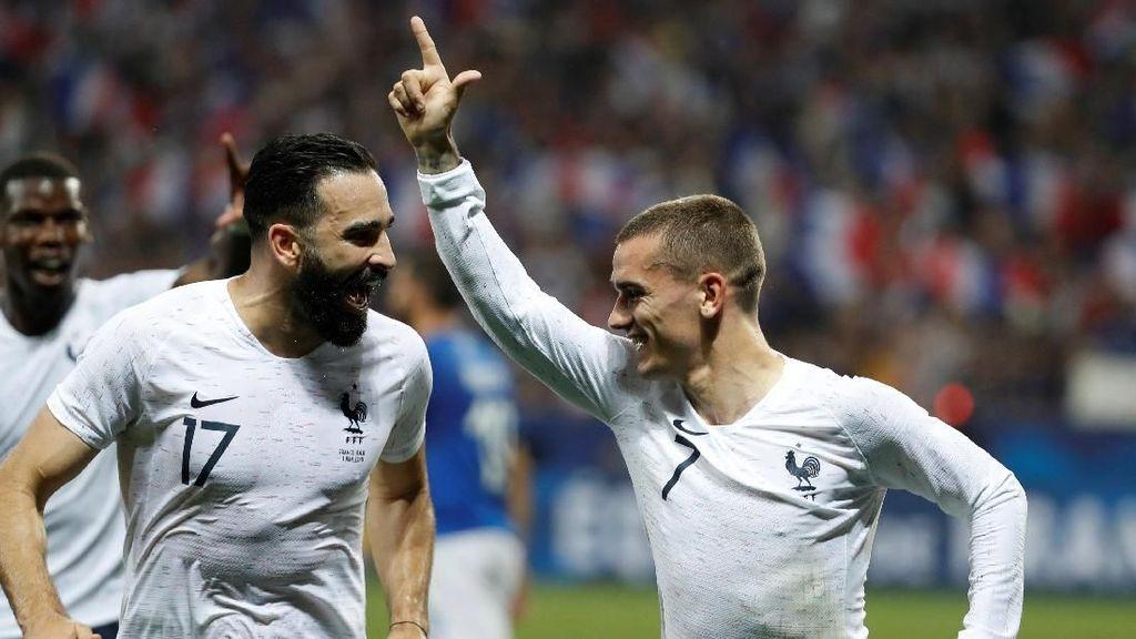 Pemanasan Jelang Piala Dunia 2018, Prancis Tumbangkan Italia
