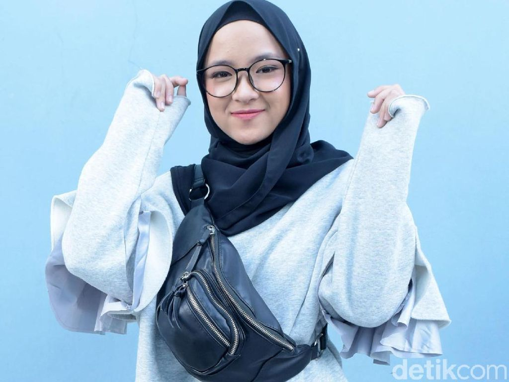 3 Tutorial Hijab ala Nissa Sabyan, Vokalis Sabyan Gambus yang Imut