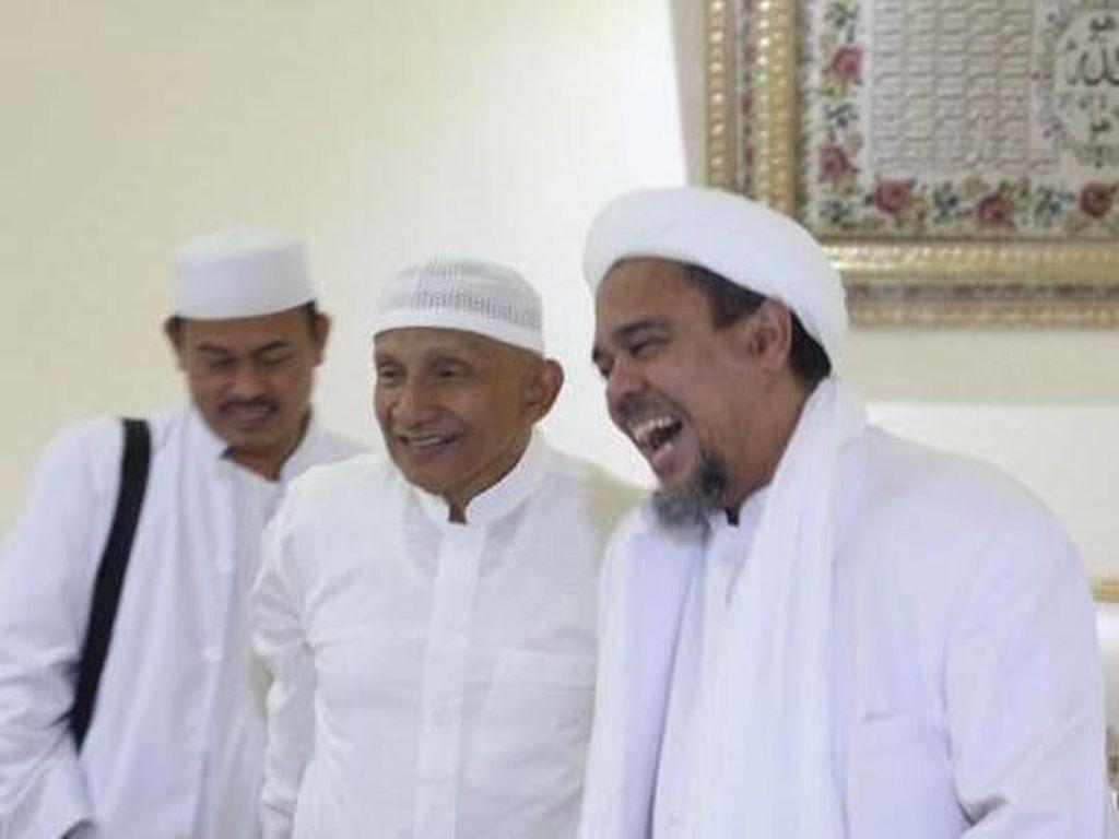 Foto Amien Rais-Habib Rizieq Dihapus IG, PA 212: Rezim Panik!