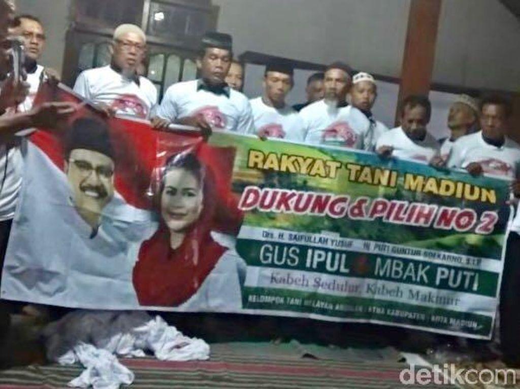 Petani Madiun Ikrar Kumpulkan Suara untuk Gus Ipul-Puti