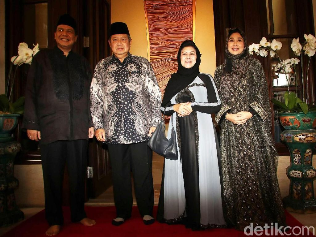 Habibie, SBY hingga JK Hadiri Bukber di Rumah CT