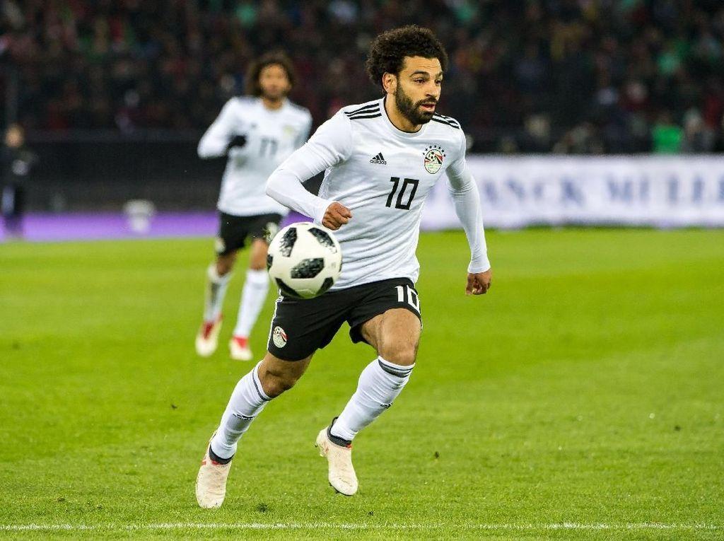 Mesir Berharap Salah Pulih Sebelum Kickoff Piala Dunia 2018