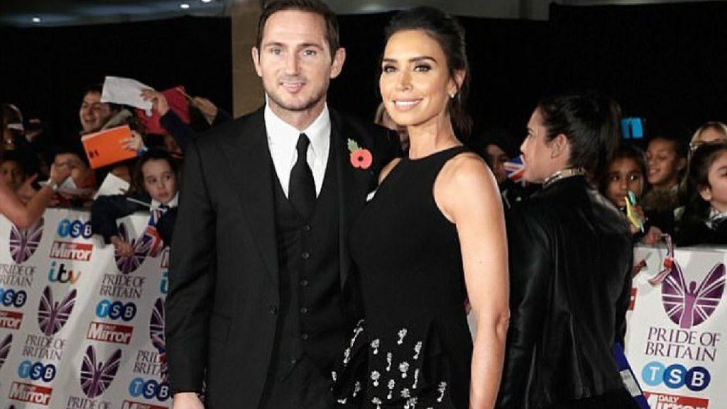 Potret Kebersamaan Frank Lampard dengan Sang Istri, Christine