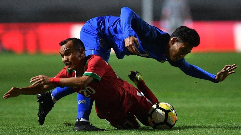 Timnas Indonesia U-23 Imbang Lawan Thailand