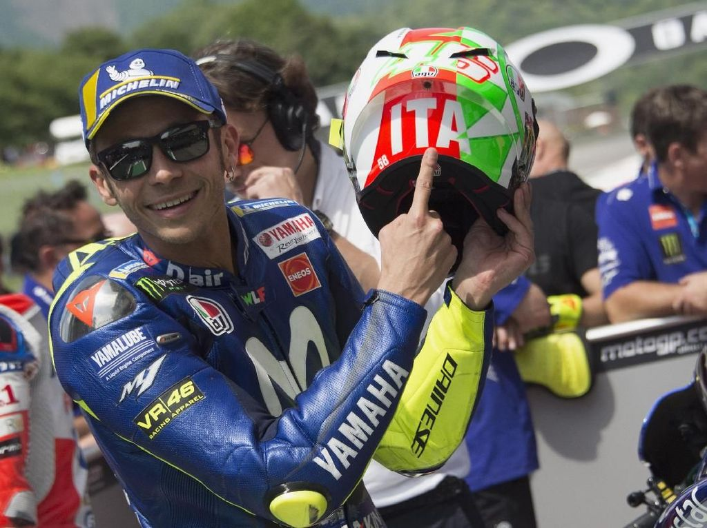 Ditunggu MotoGP Republik Ceko, Rossi Sebenarnya Masih Ingin Liburan