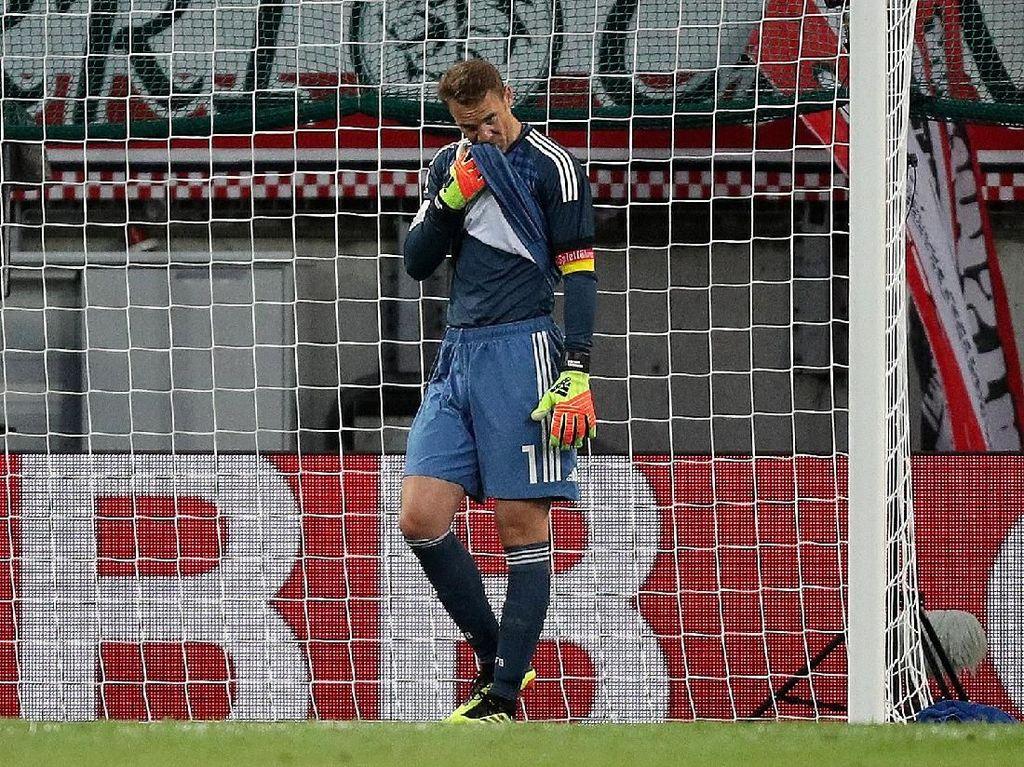 Jerman Kalah pada Laga Comeback Neuer