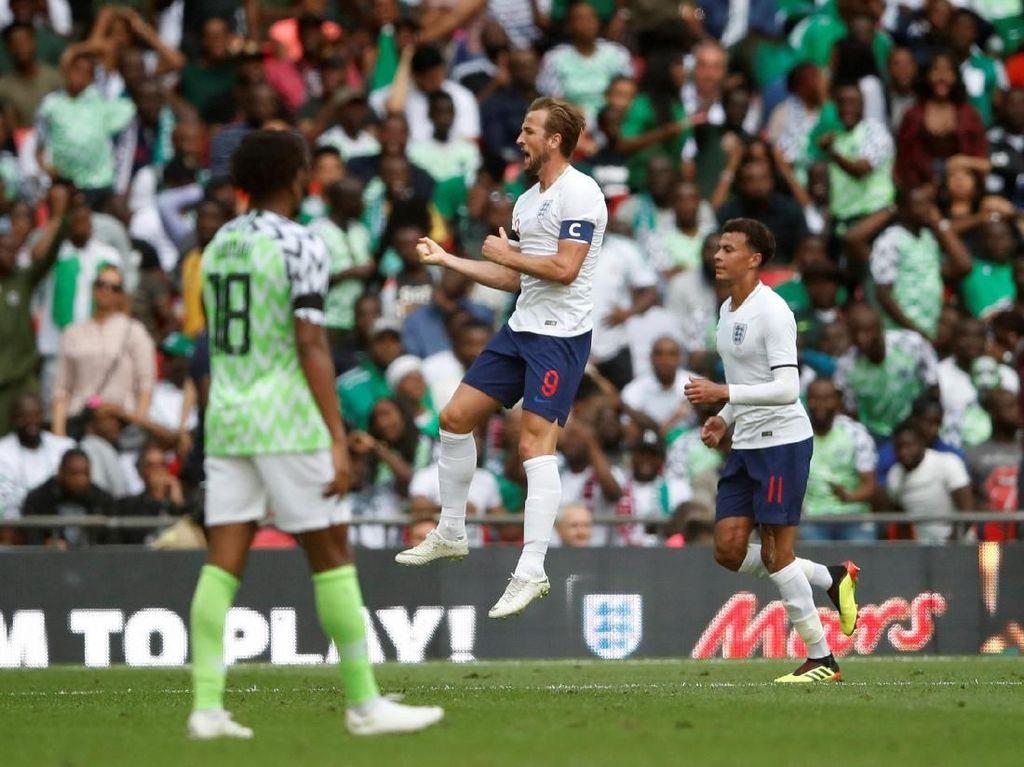 Kane Pimpin Inggris Kalahkan Nigeria