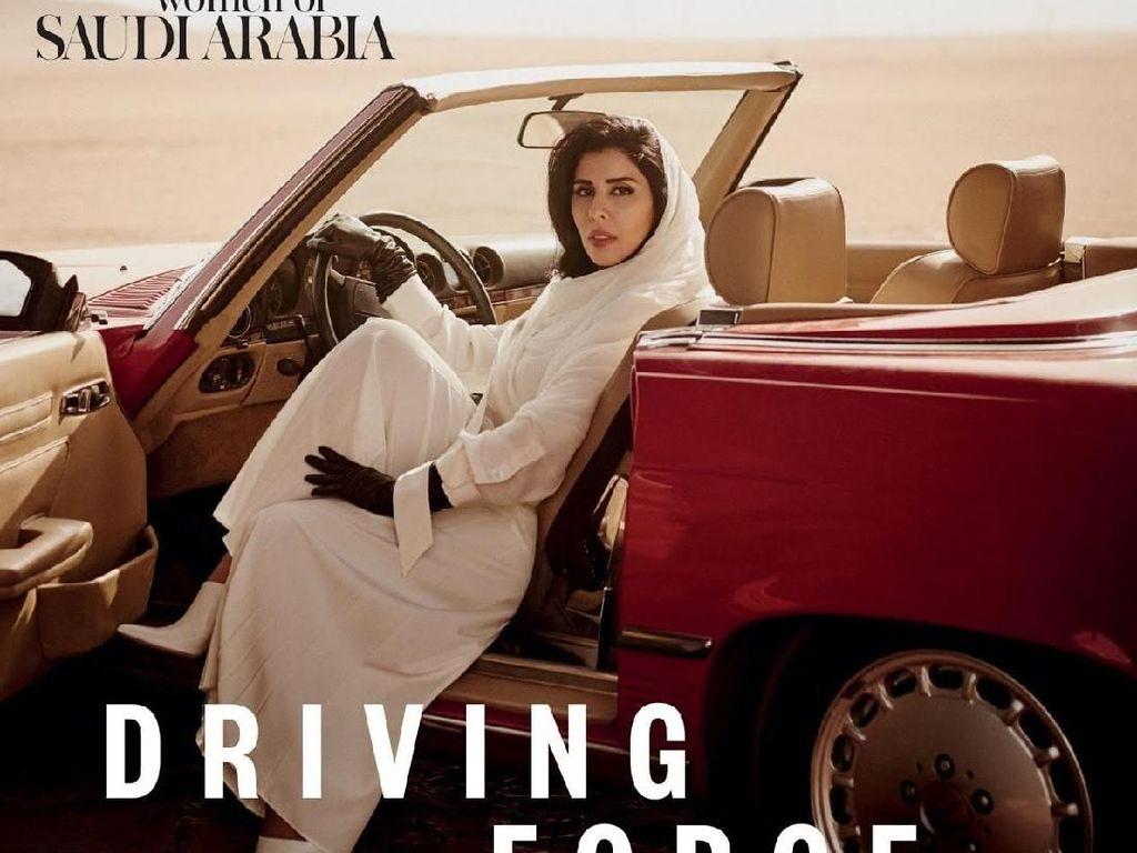 Eksis di Sampul Majalah Vogue Arabia, Putri Arab Ini Jadi Kontroversi