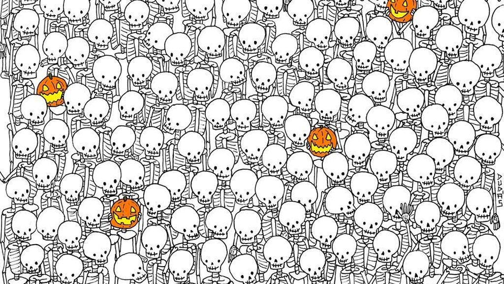 Lolipop Sudah Ketemu, Sekarang Temukan Hantu di Antara Tulang Kerangka!