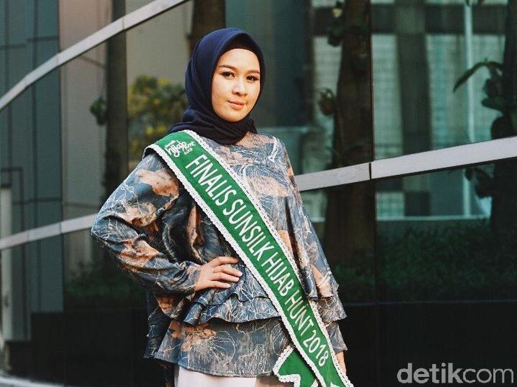 Ngelenong, Maya Shafira Tuai Pujian Juri di Final Sunsilk Hijab Hunt 2018