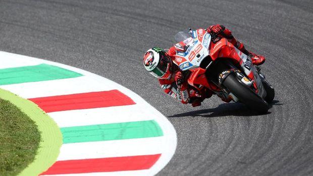 Jorge Lorenzo menang di MotoGP Italia 2018.