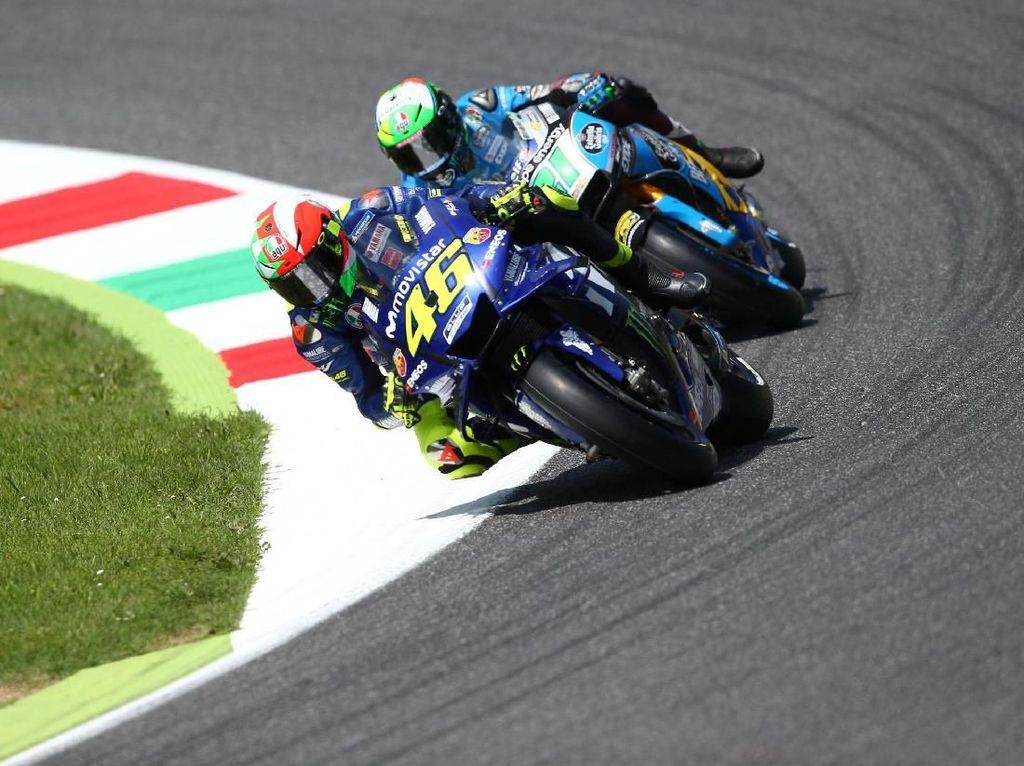 (Akhirnya) Valentino Rossi Pole Position Lagi