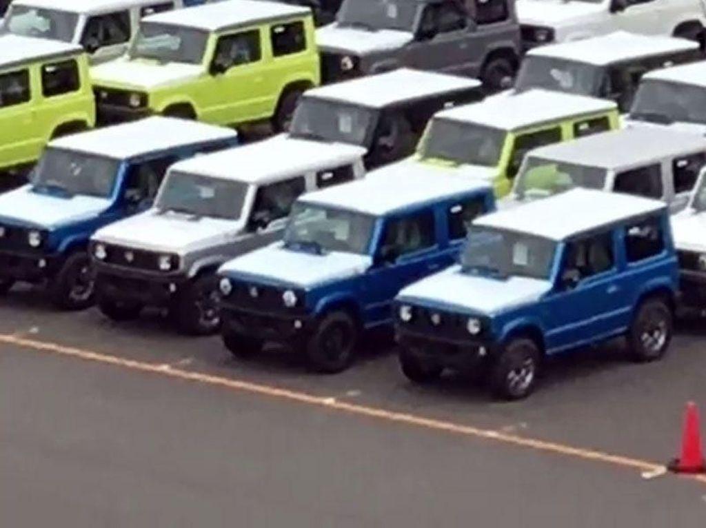 Warna-warni Suzuki Jimny