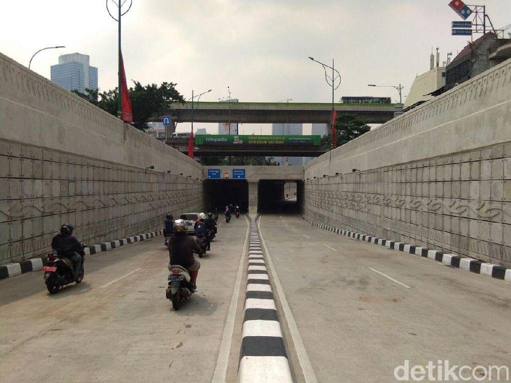 Potret Underpass Mampang yang Kembali Bersih dari Coretan