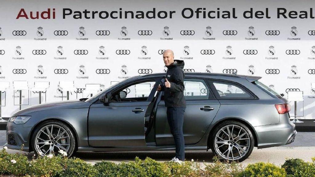 Mobil Buat Zidane Sebelum Mundur dari Real Madrid