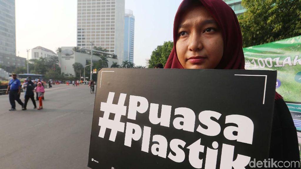 Walhi Ajak Puasa Plastik